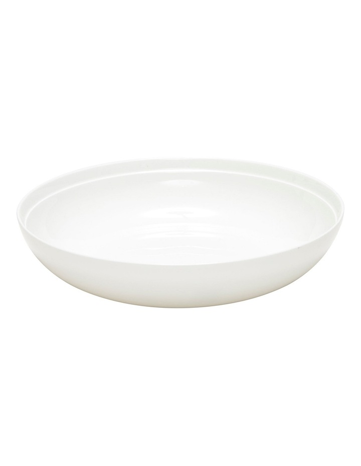 Edge Soup Bowl  22cm - White image 1