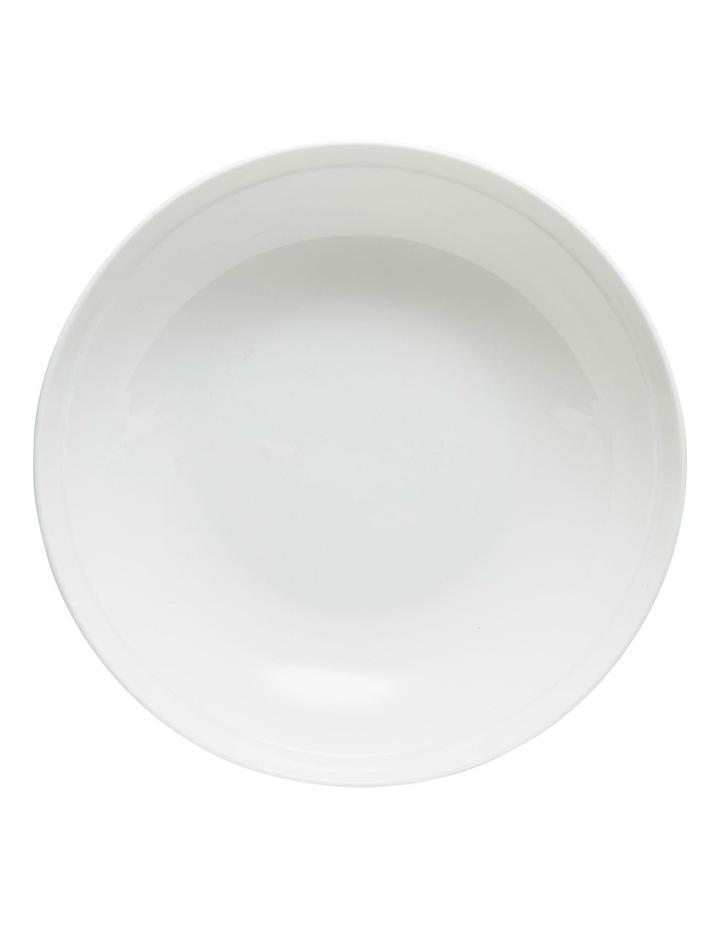 Edge Soup Bowl  22cm - White image 2