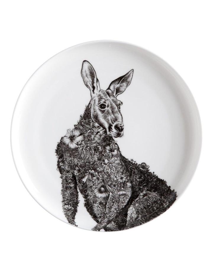Marini Ferlazzo Plate 20cm Red Kangaroo Gift Boxed image 1