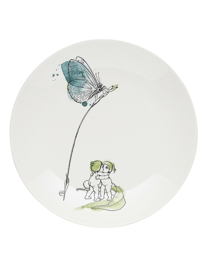 May Gibbs Butterfly Side Plate 20cm - Gift Boxed image 1