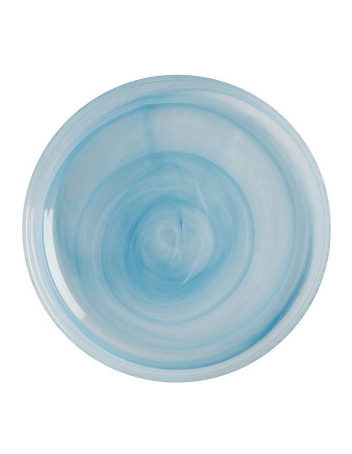Marblesque Plate 18.5cm Blue image 1
