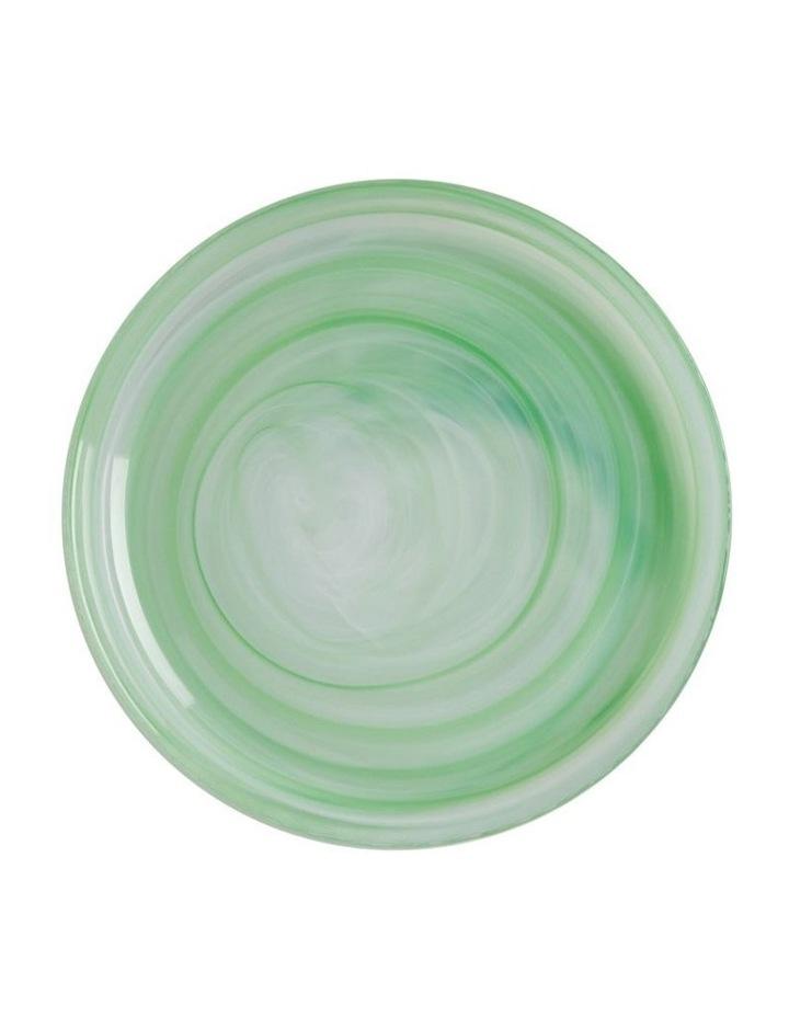 Marblesque Plate 18.5cm Mint image 1