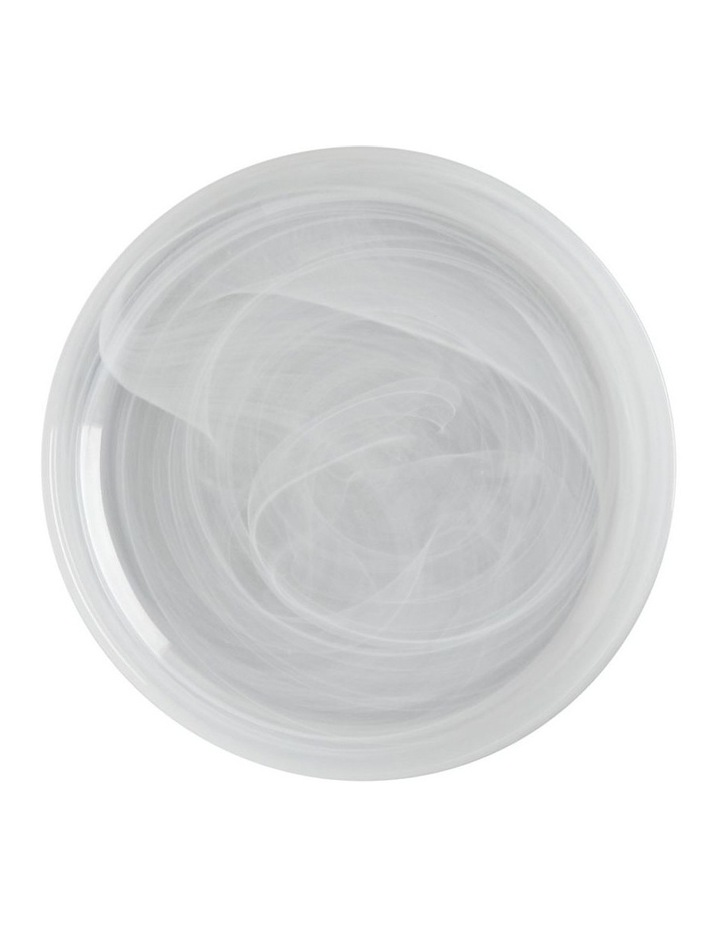 Marblesque Plate 18.5cm White image 1