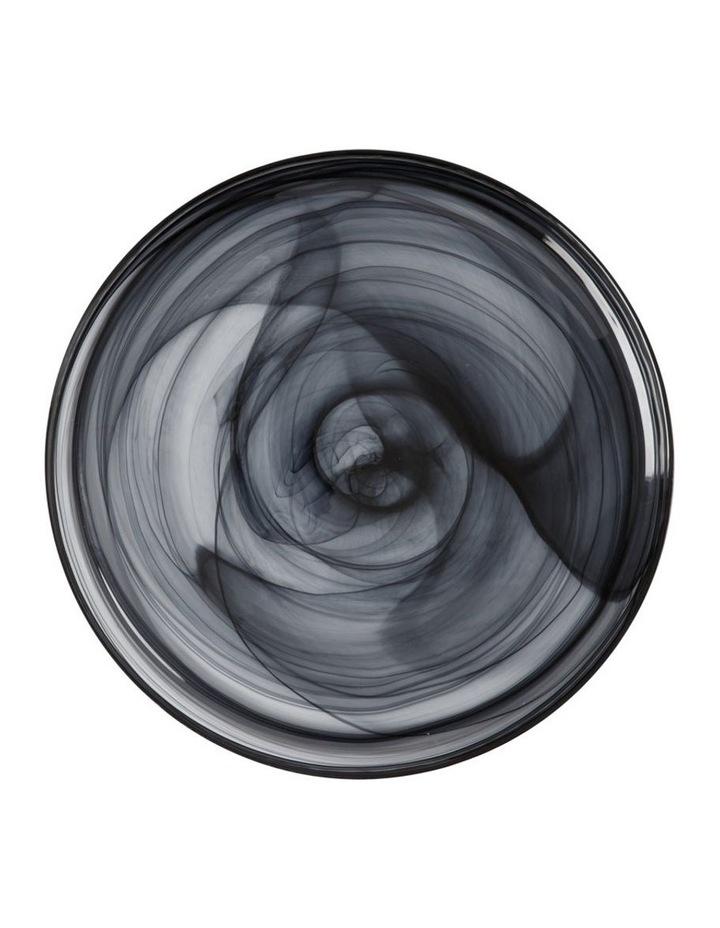 Marblesque Plate 34cm Black image 1