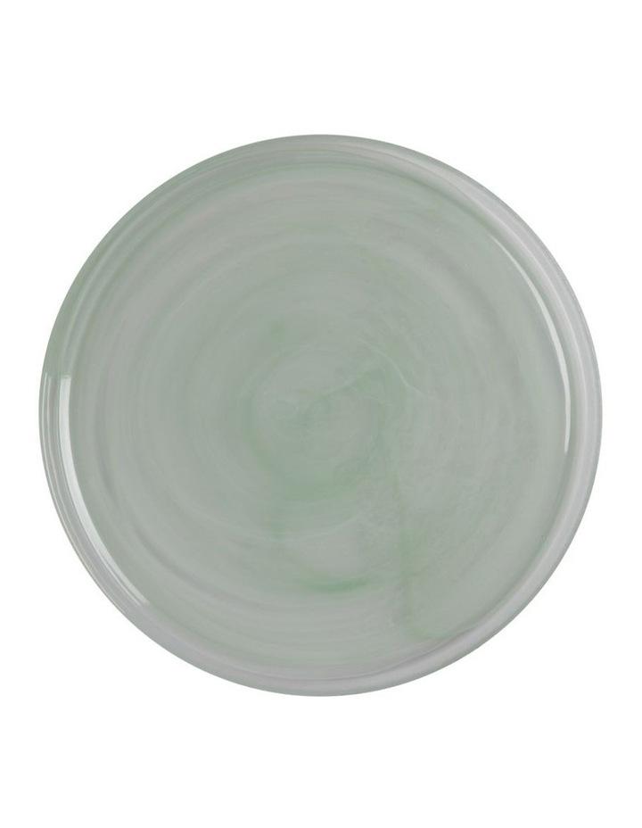 Marblesque Plate 34cm Mint image 1