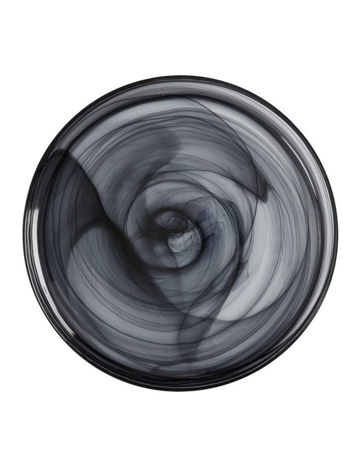 Marblesque Plate 39cm Black image 1