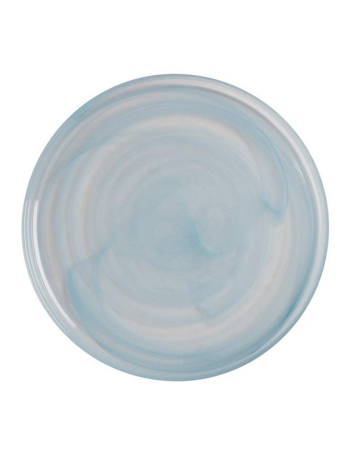 Marblesque Plate 39cm Blue image 1