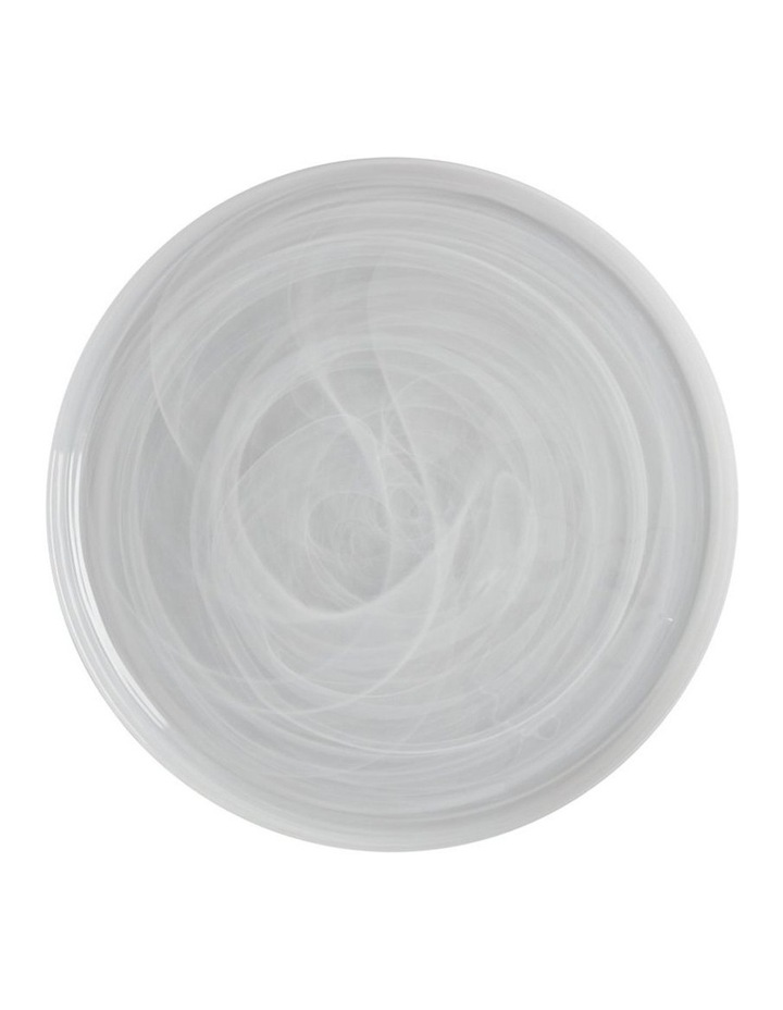 Marblesque Plate 39cm White image 1