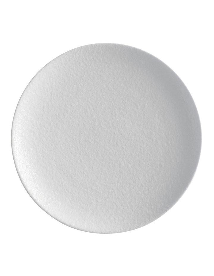 Caviar Coupe Plate 15cm White image 1