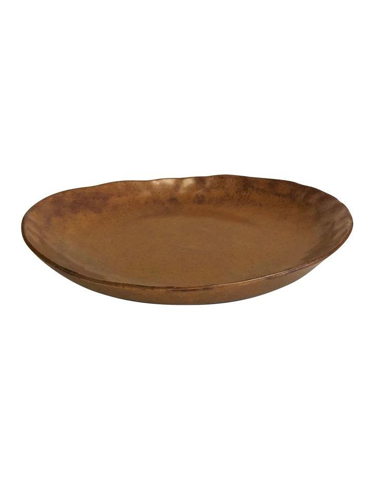 NOMAD Side Plate - 22cm - Rust image 1
