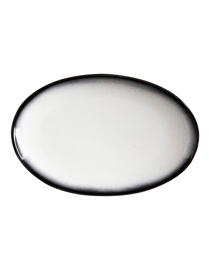 Caviar Granite Oval Plate 25x16cm image 1