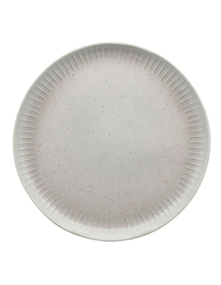 Caro 21.5cm Stoneware Side Plate in Bone White image 1