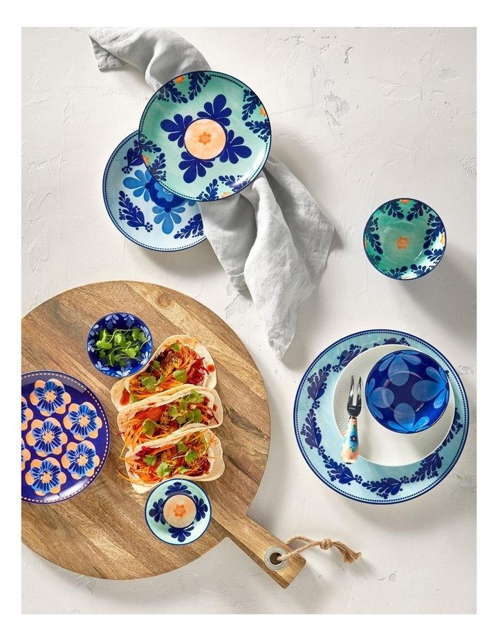 Majolica Dinner Plate 26.5cm Sky Blue image 2