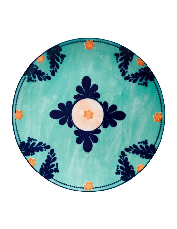Majolica Dinner Plate 26.5cm Teal image 1