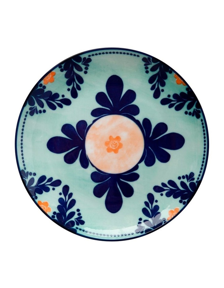 Majolica Side Plate 20cm Teal image 1