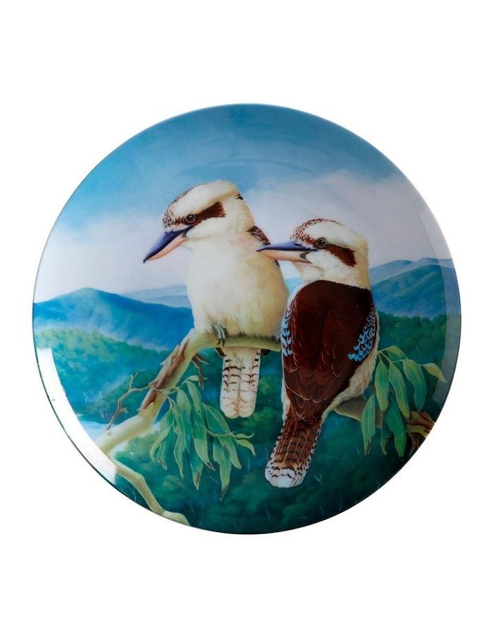Birds of Australia KC 10yr Anniversary Plate 20cm Kookaburra Gift Boxed image 1