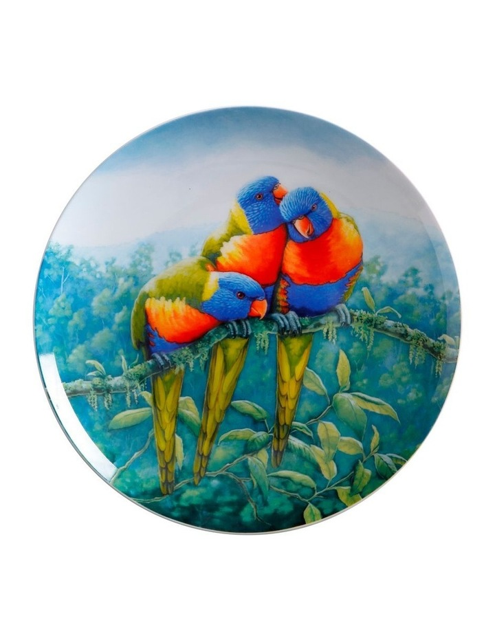 Birds of Australia KC 10yr Anniversary Plate 20cm Lorikeet Gift Boxed image 1