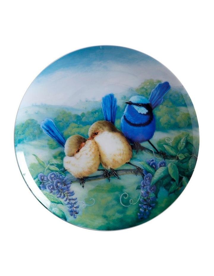 Birds of Australia KC 10yr Anniversary Plate 20cm Splendid Fairy Wren Gift Boxed image 1