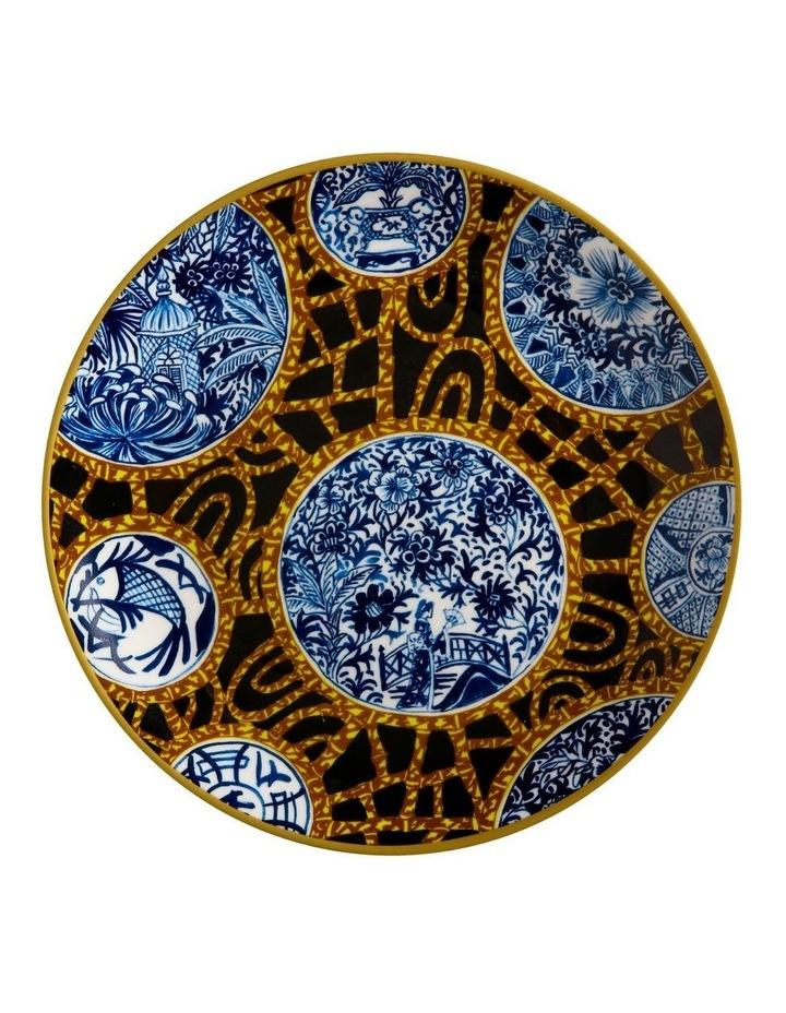 Greg Irvine Plate 20cm Batik Toile Gift Boxed image 1