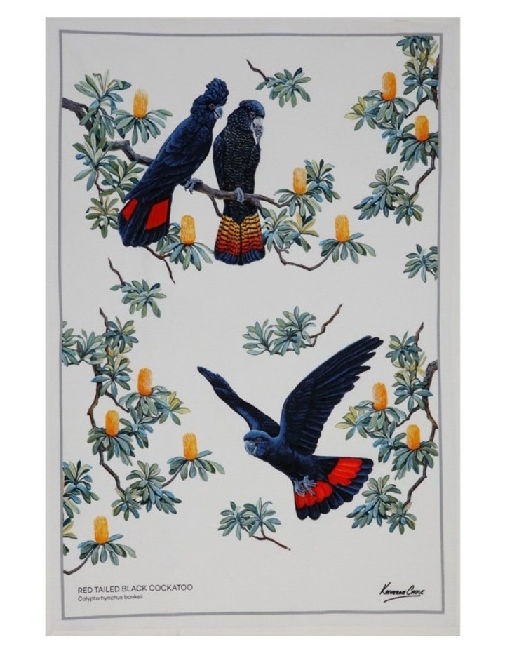 Birdsong Tea Towel 50x70cm Cockatoo image 1