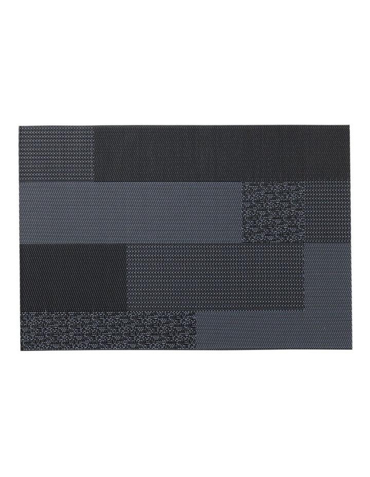 Placemat Blocks 45x30cm Navy image 1