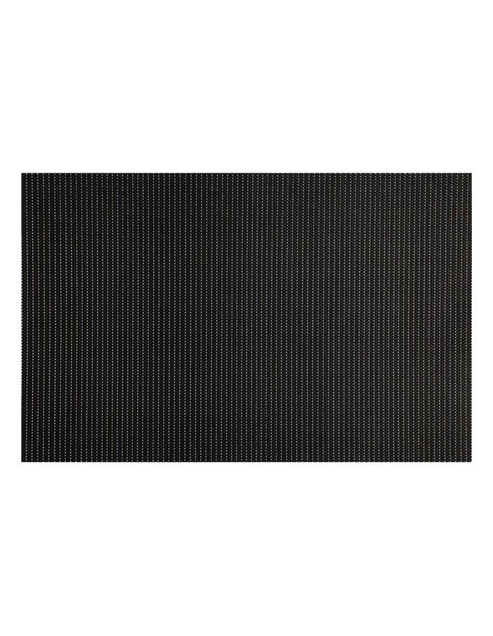 Placemat Glimmer 45x30cm Black image 1