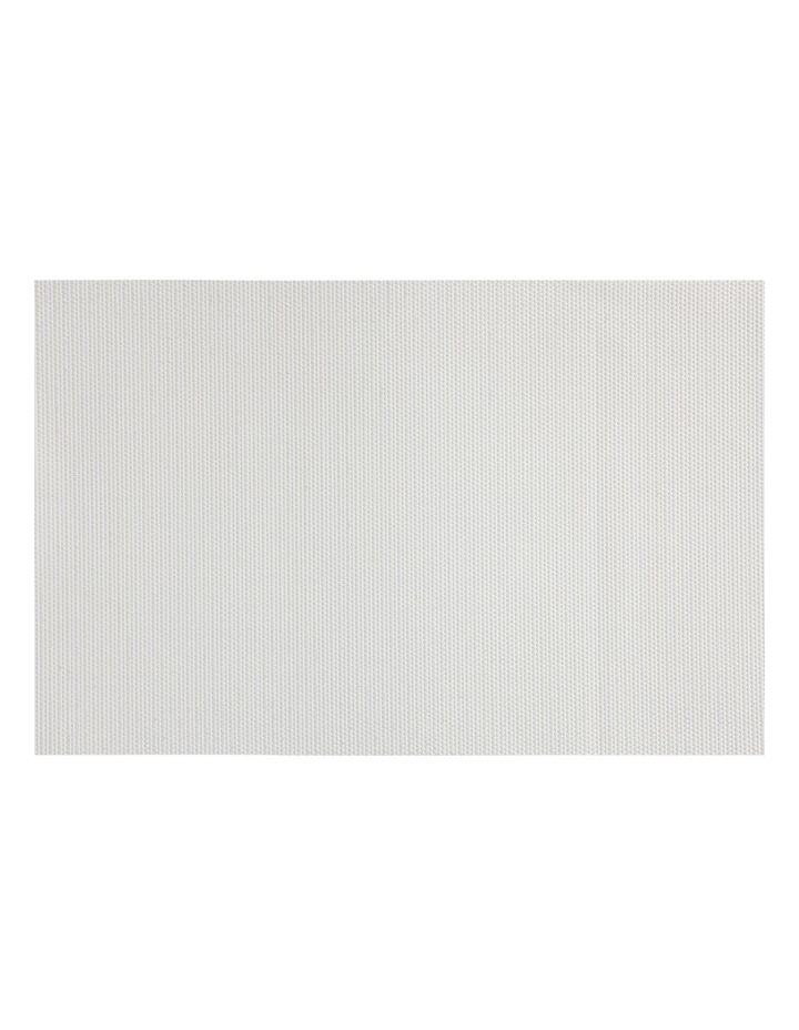 Placemat Glimmer 45x30cm White image 1