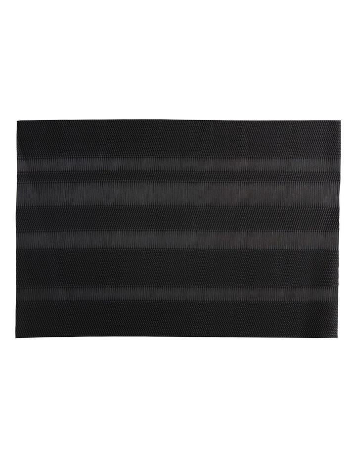 Placemat Loom 45x30cm Black image 1