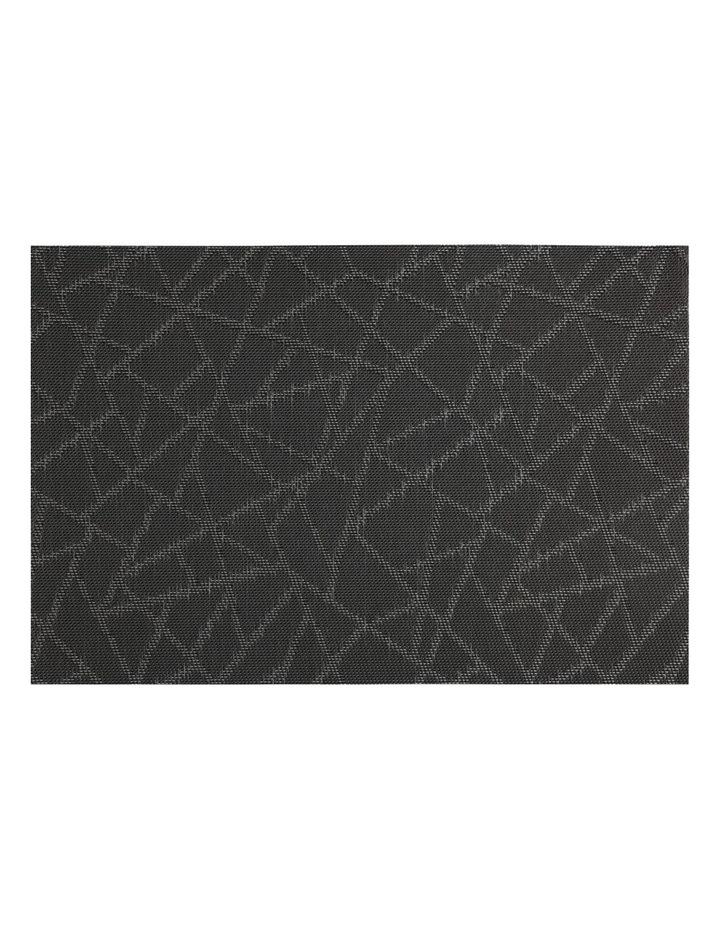 Placemat Mosaic 45x30cm Black image 1