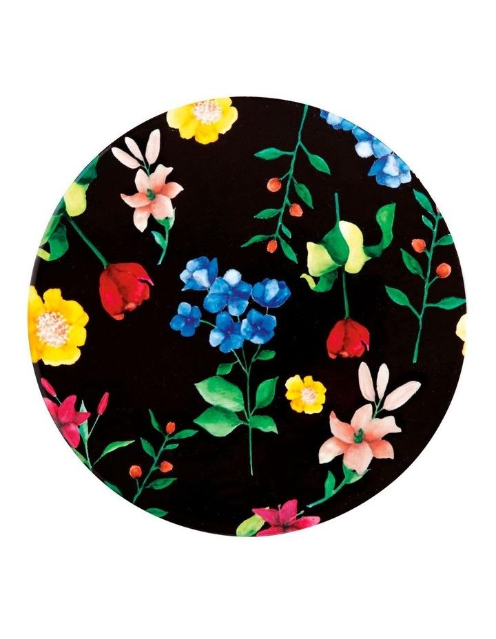 Teas & C's Contessa Ceramic Round Trivet 20cm Black image 1
