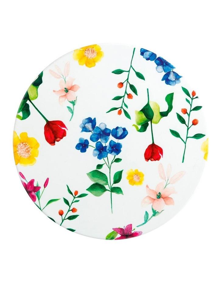 Teas & C's Contessa Ceramic Round Trivet 20cm White image 1