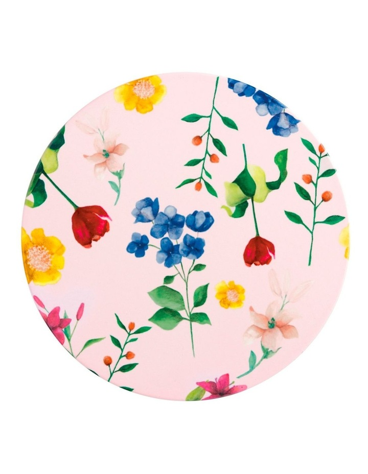 Teas & C's Contessa Ceramic Round Trivet 20cm Rose image 1