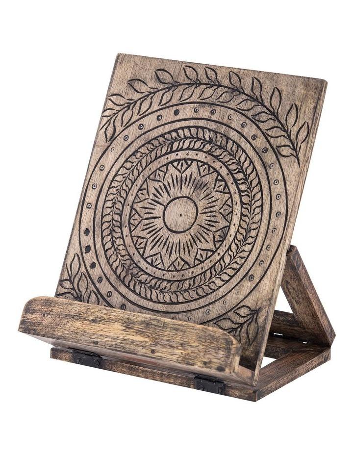 Casablanca Wooden Recipe Holder image 1
