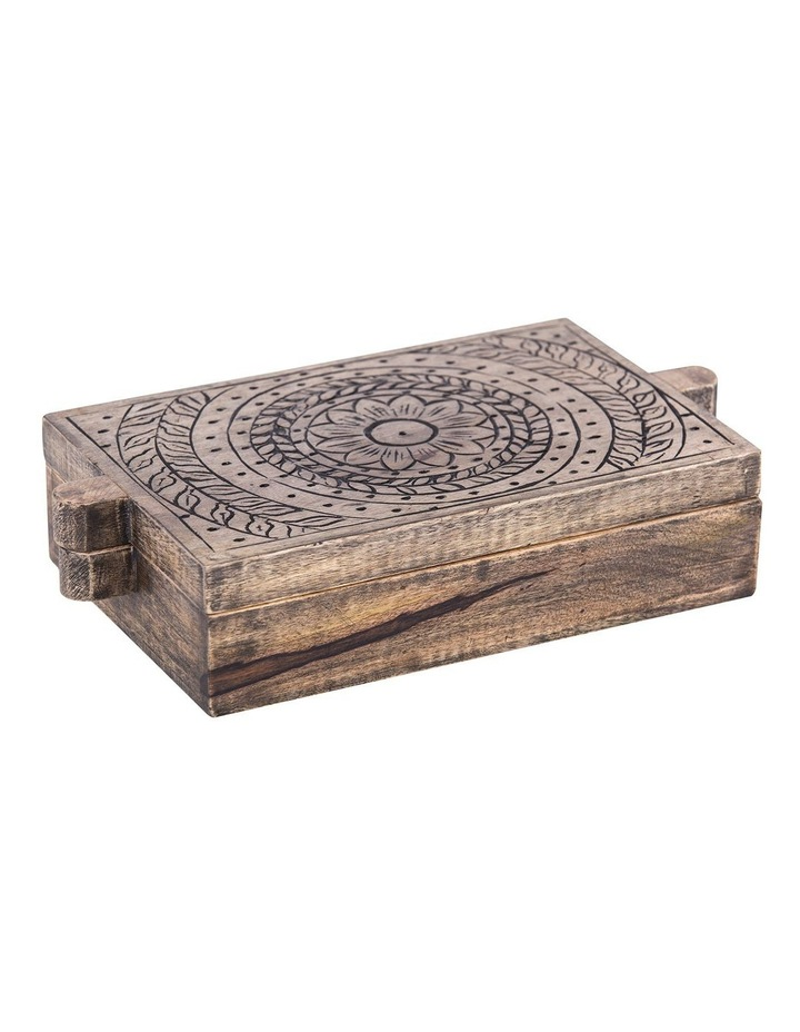 Casablanca Wooden Tea Box image 1