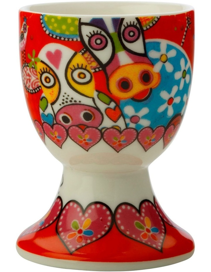 Love Hearts Egg Cup Happy Moo Day image 1