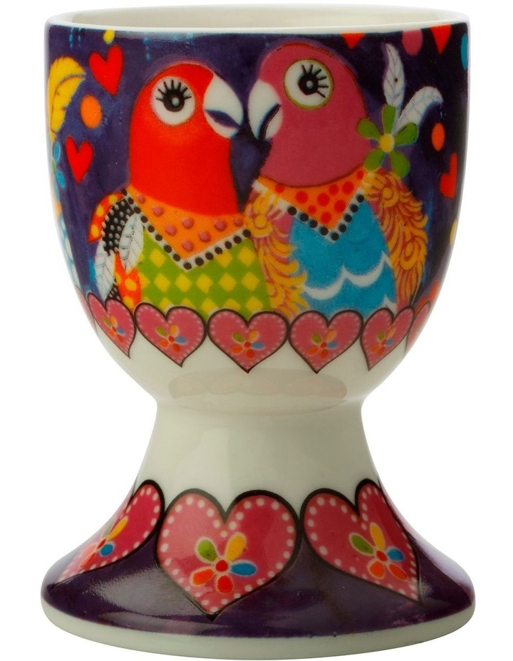 Love Hearts Egg Cup Love Birds image 1