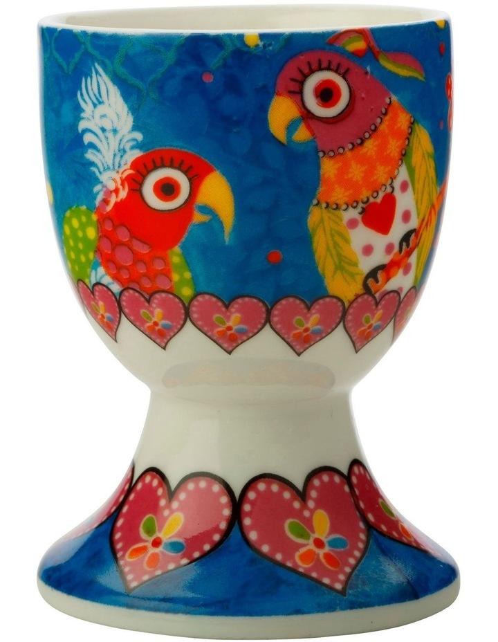 Love Hearts Egg Cup Rainbow Girls image 1