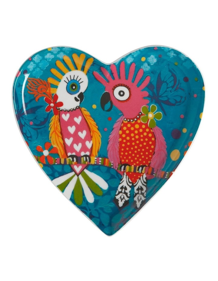 Love Hearts Heart Plate 15.5cm Chatter Gift Boxed image 1