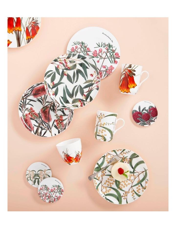 Royal Botanic Garden Ceramic Round Coaster 9.5cm Telopea image 2
