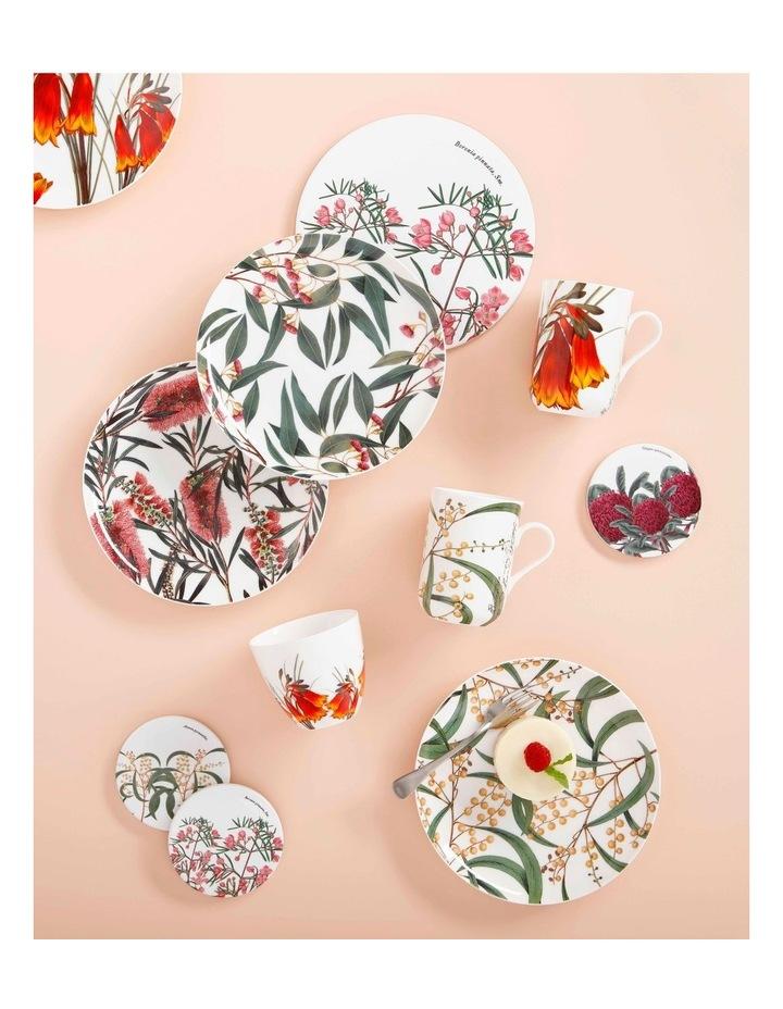 Royal Botanic Garden Ceramic Round Coaster 9.5cm Wattle image 2