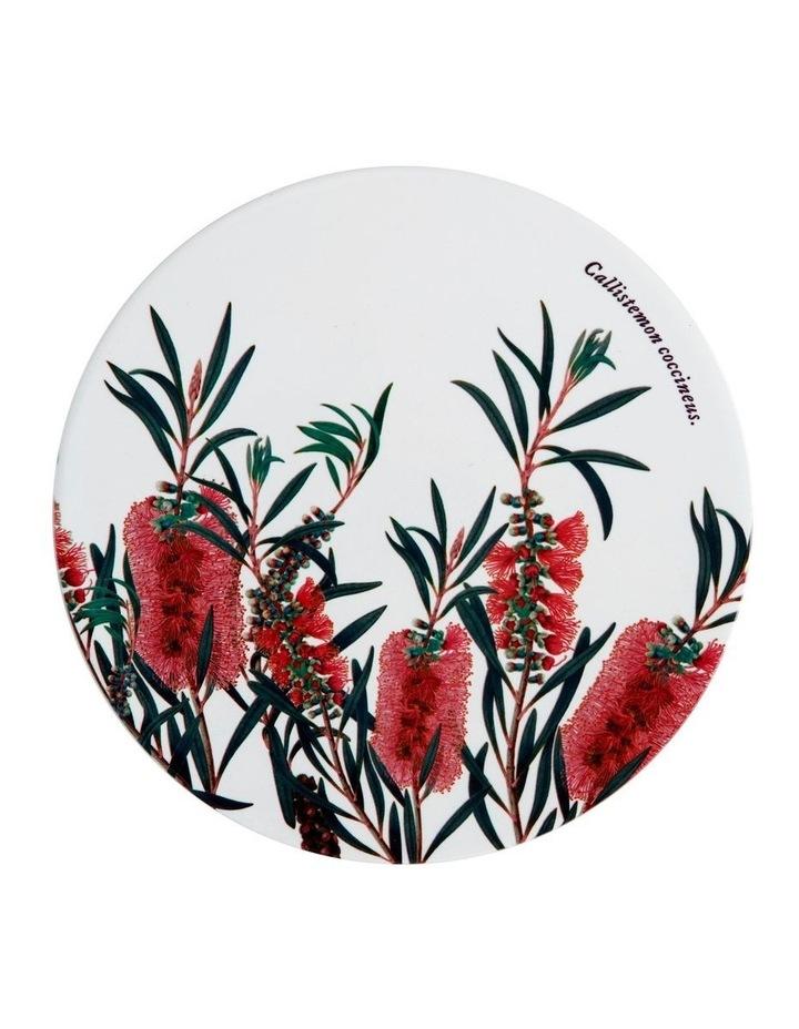 Royal Botanic Garden Ceramic Round Trivet 20cm Bottlebrush image 1