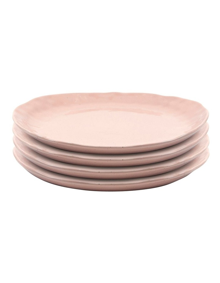 NOMAD Plate - 28cm - Blush - Set of 4 image 1
