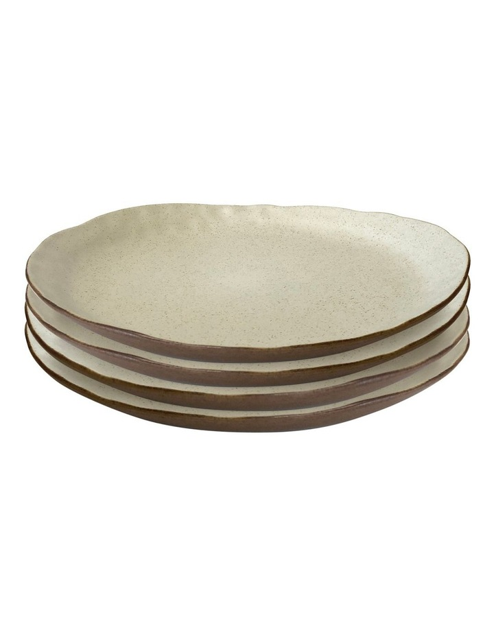 NOMAD Dinner Plate - 27cm - Natural - Set of 4 image 1