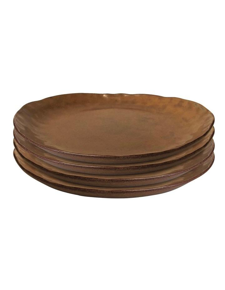 NOMAD Dinner Plate - 27cm - Rust - Set of 4 image 1