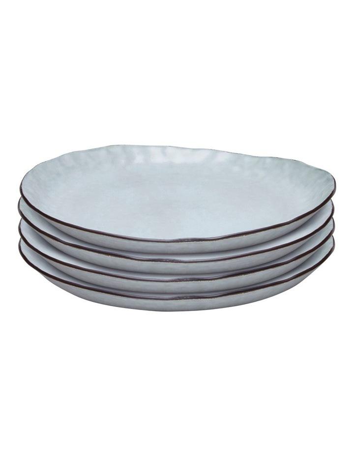 NOMAD Dinner Plate - 28cm - Grey - Set of 4 image 1