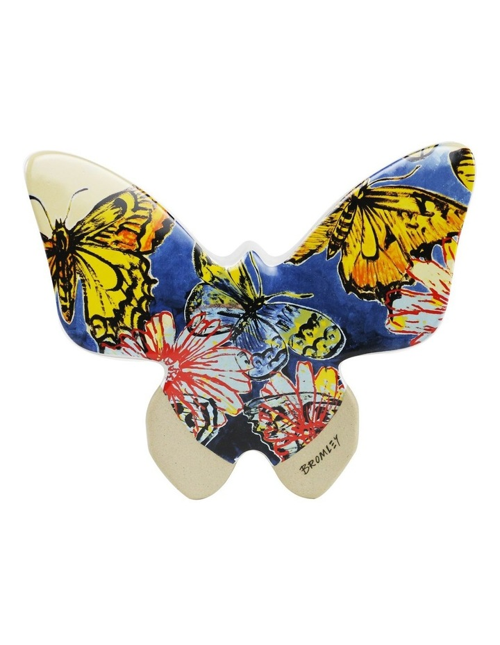Bromley Hanging Wall Butterfly Large - Butterflies Dip Painted 3 image 1