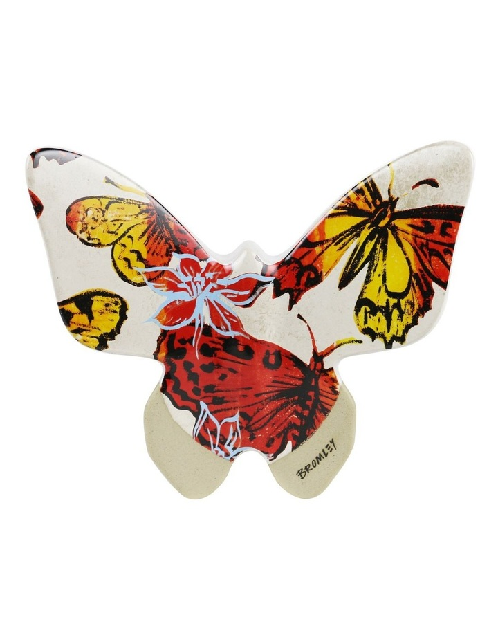Bromley Hanging Wall Butterfly Large - Red Butterflies image 1