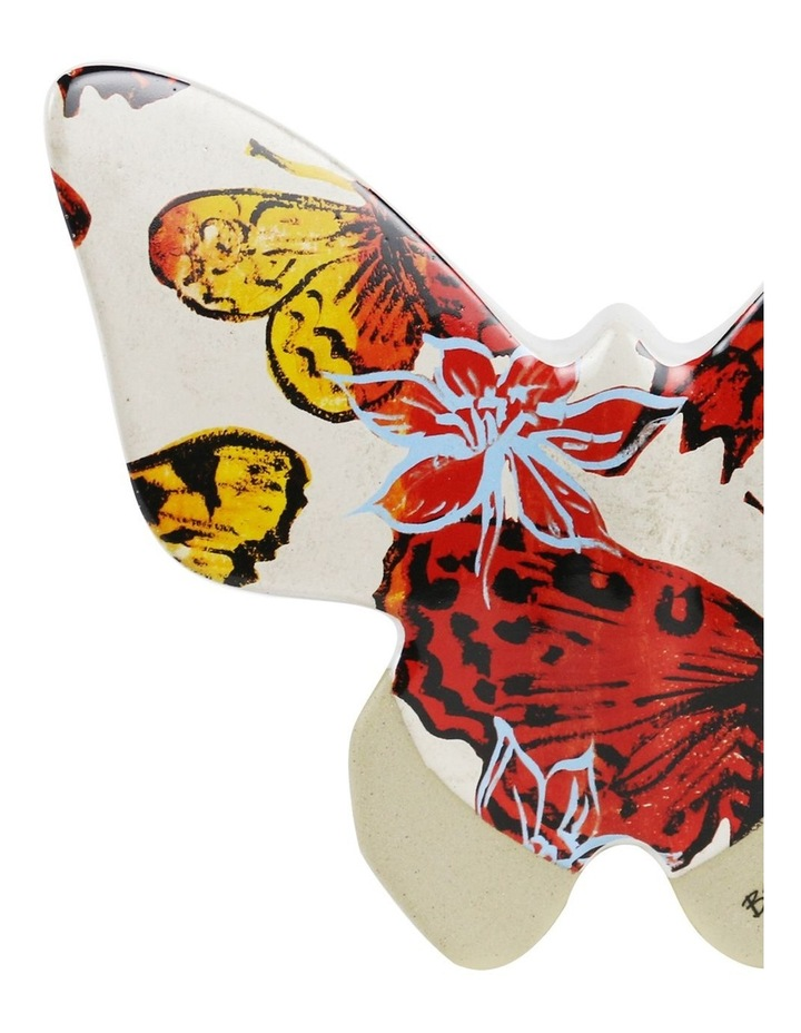 Bromley Hanging Wall Butterfly Large - Red Butterflies image 2