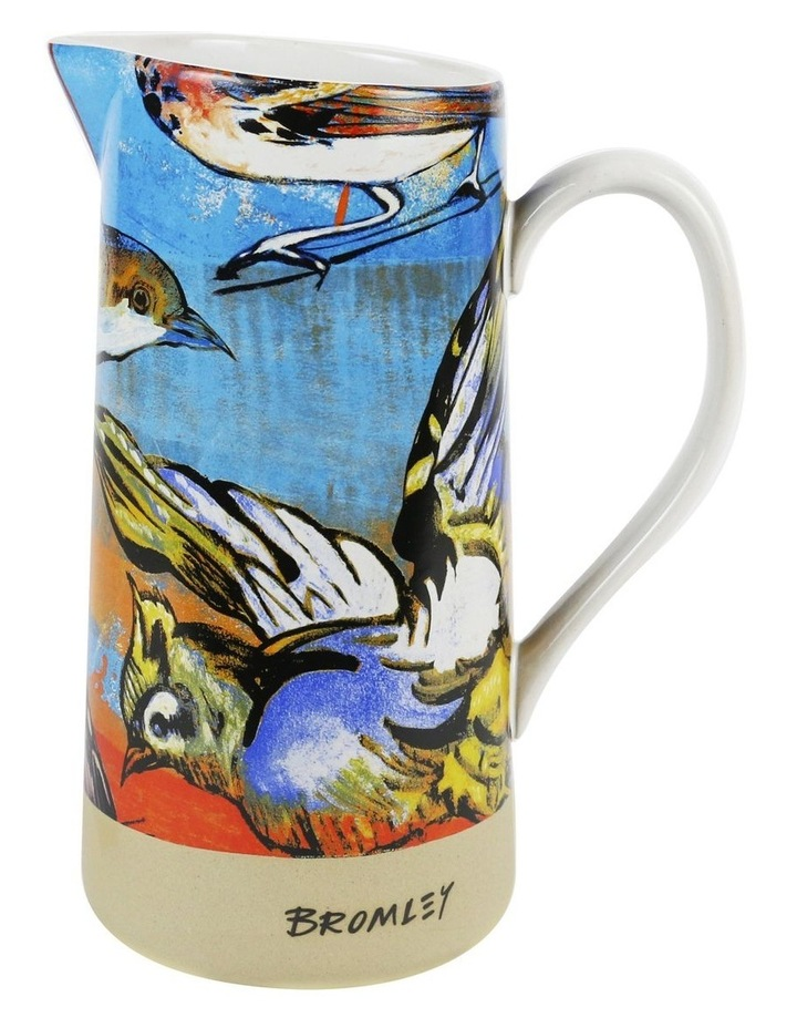 Bromley Large Jug with Handle - 5 x Birds image 1