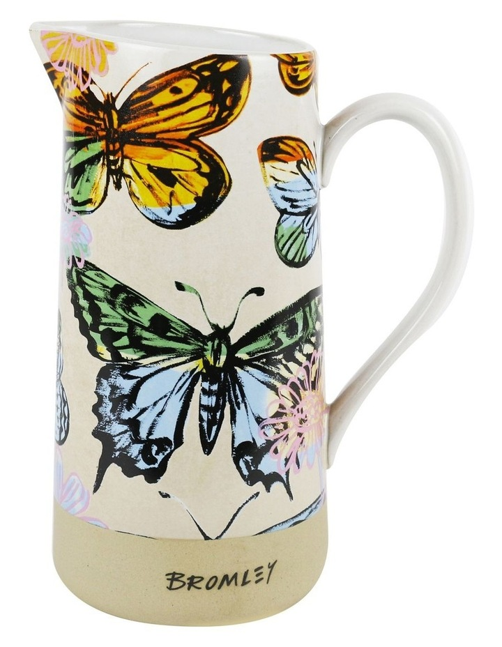 Bromley Large Jug with Handle - DB Butterflies Extra 2 image 1